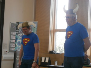 Authors Steve Skidmore and Steve Barlow visit Key Stage 2