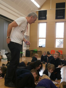 Children's Author Peter Bently visits Key Stage 1