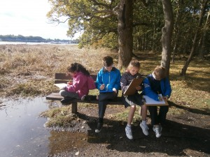 Year 5 Visiting River Hamble